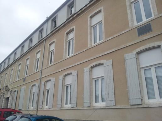 Obrázek: WSI impregnace ve Francii na budově Lycee Parthenay.