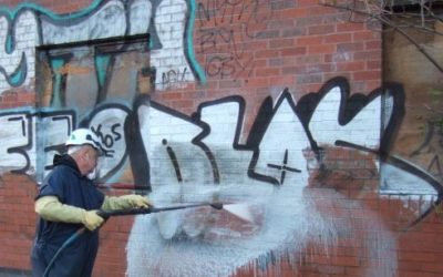 AntiGraffiti – protective layer against spray vandalism